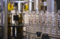 橄榄油工厂,橄榄色的生产 图库摄影