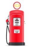 填装老减速火箭的传染媒介例证的红色汽油 库存照片