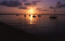 地亚哥港口圣 库存图片