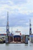 Ελλιμενισμένος λιμένας σκαφών του Ρότερνταμ, Ολλανδία Στοκ Φωτογραφία