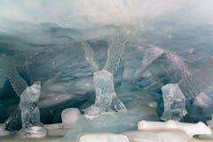 隧道冰宫殿 库存图片