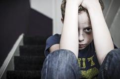 虐待儿童 图库摄影
