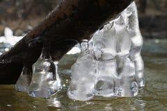 冰柱响铃 库存照片