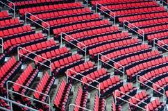室内竞技场位子 免版税库存照片