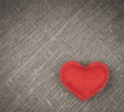 红色心脏 免版税库存照片