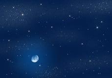 небо звёздное Стоковые Изображения
