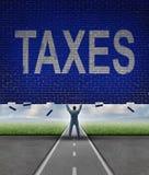 Φορολογικές συμβουλές Στοκ Εικόνες