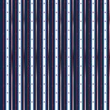 星条旗与银,无缝的设计 免版税库存照片