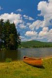湖边 库存照片