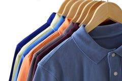 Рубашки поло Стоковая Фотография