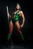 Женщина бойца Стоковые Изображения RF