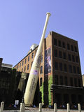 Музей сильного отбивающего Луисвилла Стоковое Изображение RF