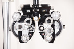 视力测验设备 免版税库存图片