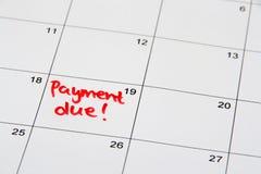 付付款 免版税库存照片