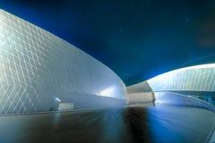 博物馆蓝色行星 免版税库存照片