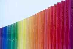 Φραγμοί χρώματος Στοκ Εικόνες