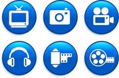 Κουμπιά τεχνολογίας Στοκ φωτογραφία με δικαίωμα ελεύθερης χρήσης