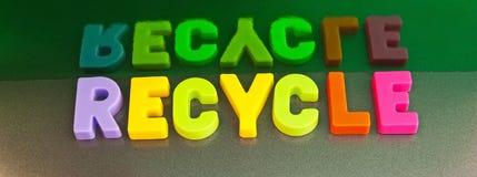 回收:是绿色 免版税库存图片