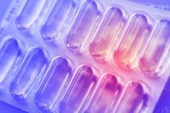 Лекарства или витамины Стоковая Фотография