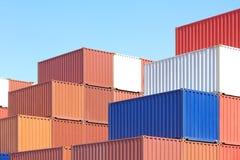 容器运输 免版税库存照片