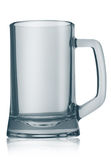 空的啤酒杯 库存图片