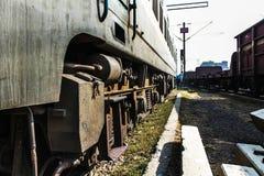 火车引擎 免版税库存图片