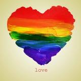 Ομοφυλοφιλική αγάπη Στοκ φωτογραφία με δικαίωμα ελεύθερης χρήσης