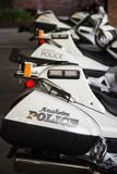 Полиция Анахайма Стоковое Изображение RF