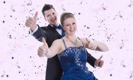 Принц и принцесса на масленице или ферзь и костюм короля Стоковая Фотография