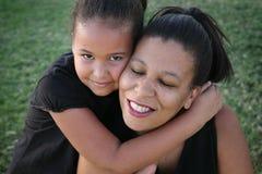 Мать и дочь Стоковое Изображение RF