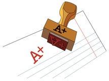 A+ иллюстрация вектора
