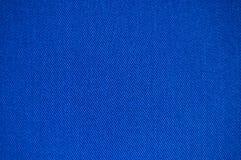 蓝色织品纹理 免版税库存照片