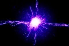 强有力的能量 图库摄影