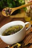Чашка трав Стоковая Фотография