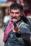 Шериф указывает оружие Стоковые Фотографии RF