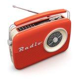 Винтажное радио Стоковое Изображение