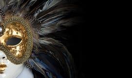Ενετική μάσκα Στοκ εικόνες με δικαίωμα ελεύθερης χρήσης