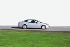 查出的日本豪华轿车速度 免版税库存图片