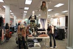 Подростковый магазин моды Стоковые Фотографии RF