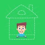 План дома Стоковые Фотографии RF
