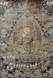 西藏宗教绘画,中国 免版税库存照片