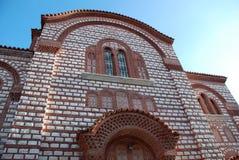 基督教会在希腊 免版税库存照片