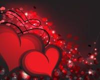 Предпосылка дня валентинок Стоковая Фотография RF