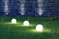 大角度发光的球形 库存照片