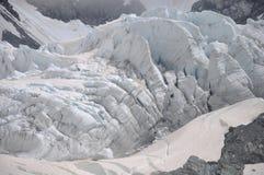 弗朗兹约瑟夫冰川 免版税图库摄影