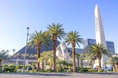 卢克索旅馆和赌博娱乐场,拉斯维加斯 免版税库存图片