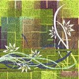 λουρίδες προτύπων μορφής λουλουδιών Στοκ φωτογραφίες με δικαίωμα ελεύθερης χρήσης