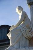 学院纪念碑海军的黎波里 库存照片