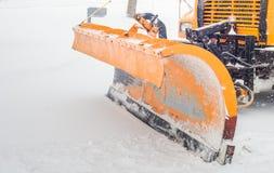 Άροτρο χιονιού Στοκ φωτογραφία με δικαίωμα ελεύθερης χρήσης