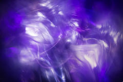 抽象轻的结冰背景,蓝色不可思议的分数维 免版税库存照片